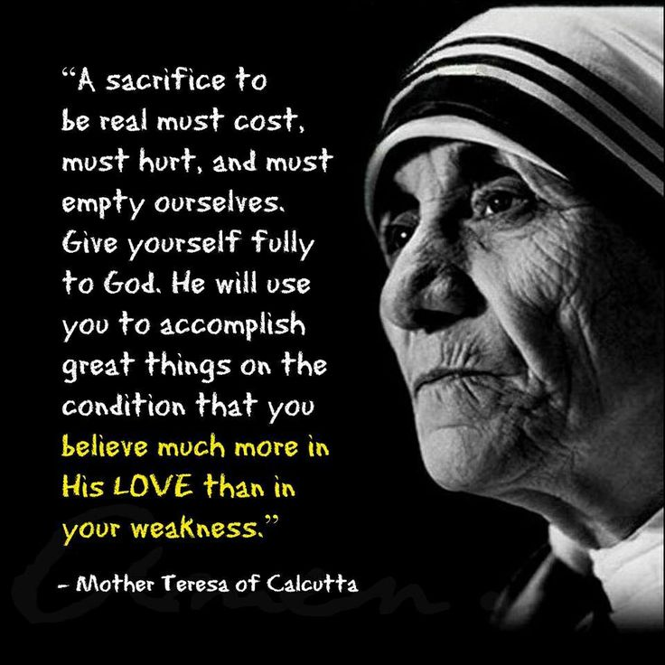 Quote From Mother Teresa