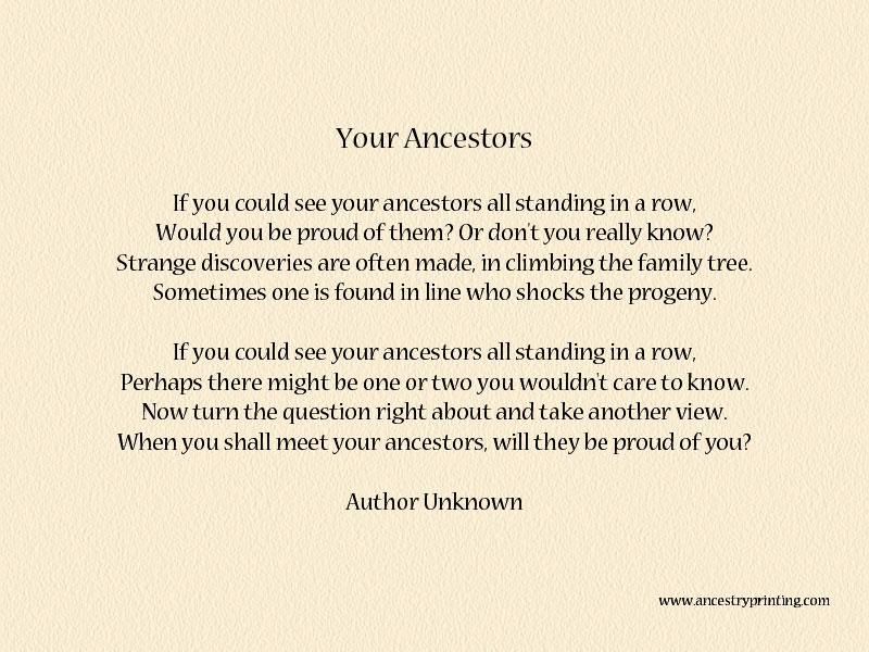 Quotes Honoring Ancestors. QuotesGram