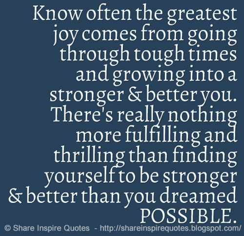 Growing Stronger Quotes. QuotesGram