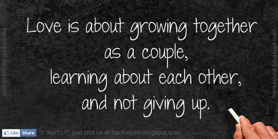 Growing Together Quotes. QuotesGram