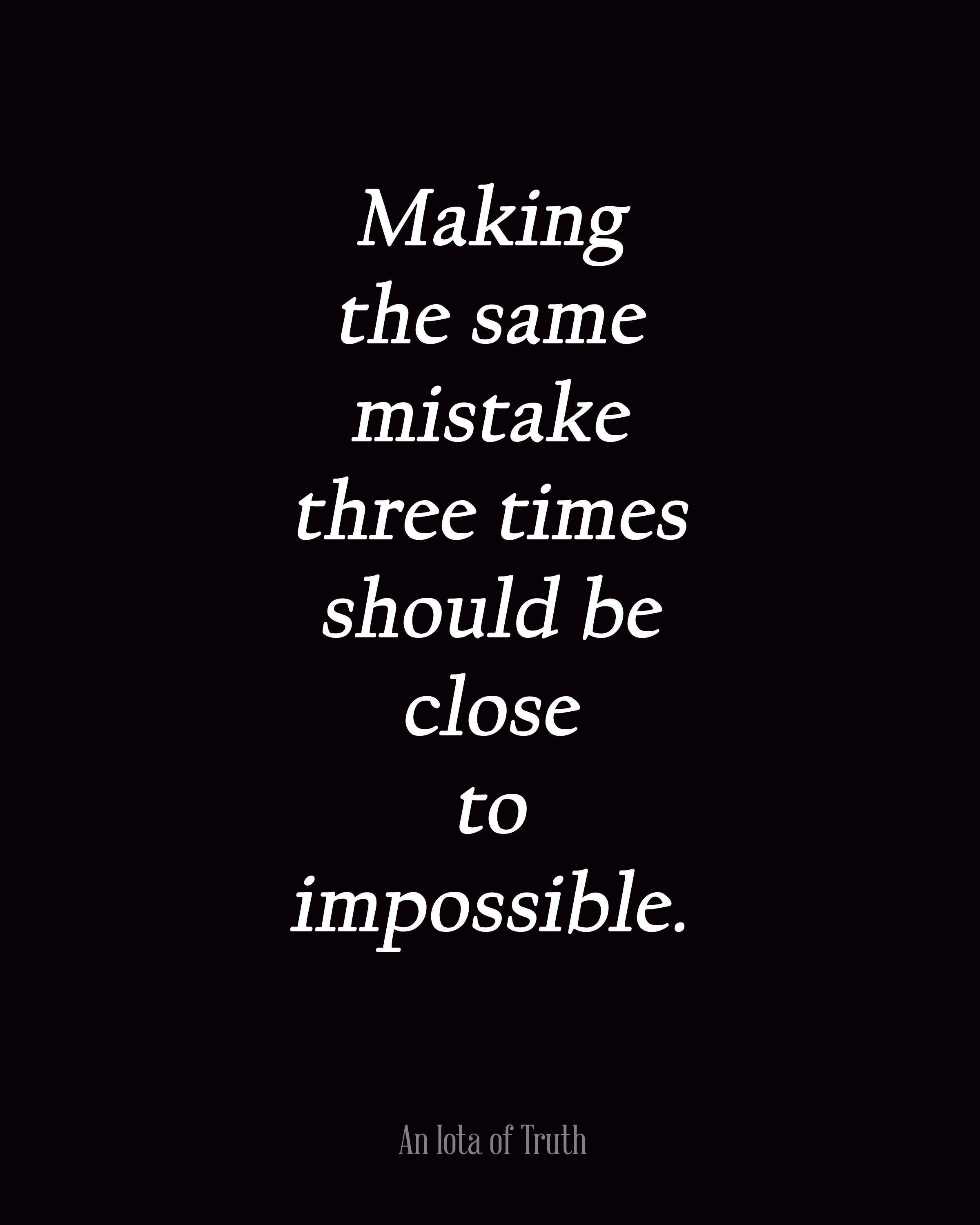 Making The Same Mistakes Over And Over Again Quotes: Making The Same Mistakes Quotes. QuotesGram