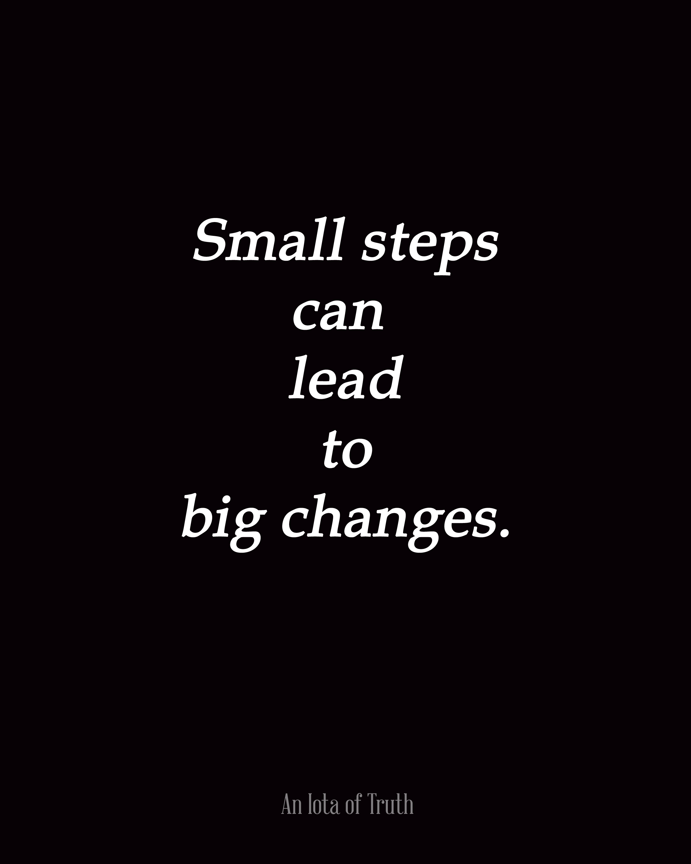 Big To Small Motivational Quotes. QuotesGram