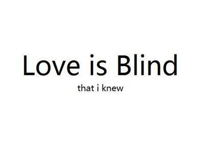 Funny Quotes Love Is Blind : Funny Quotes Love Is Blind. QuotesGram