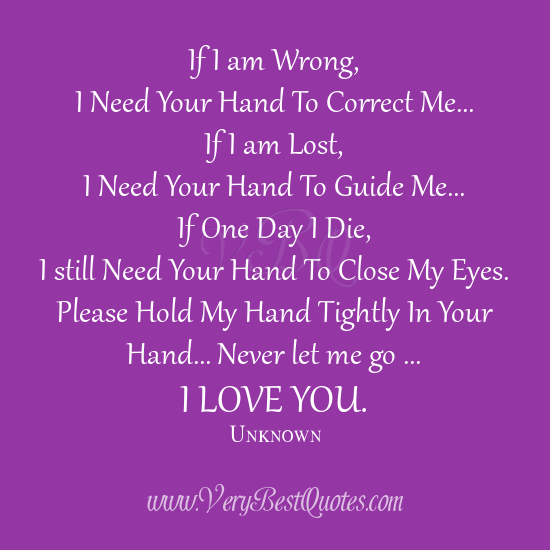 I Love You Quotes And Messages : ... -love-quotes-hold-my-hands-cute-love-sayings-I-love-you-quotes.jpg