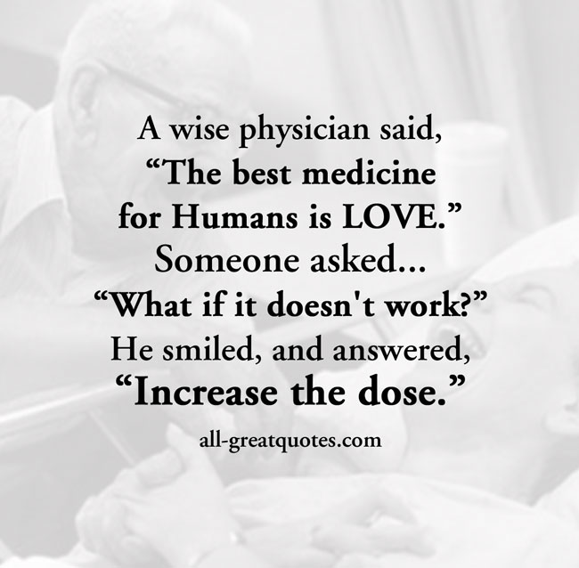 Best Quotes About Medicine: Great Physician Quotes. QuotesGram
