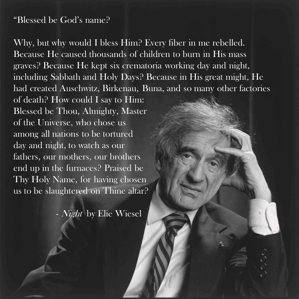 Elie Wiesel Famous Quotes. QuotesGram