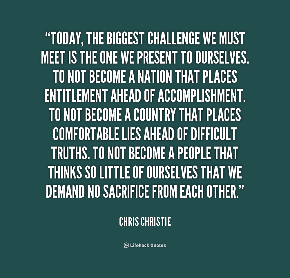 Challenge Sayings Pictures: Meet The Challenge Quotes. QuotesGram
