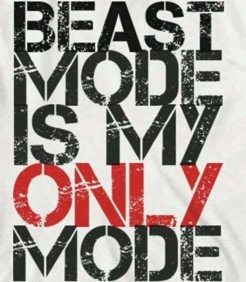 Beast Mode Quotes Quotesgram