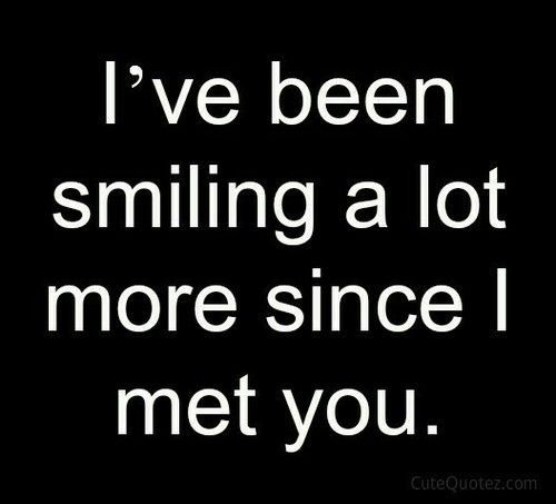 Since I Met You Quotes. QuotesGram