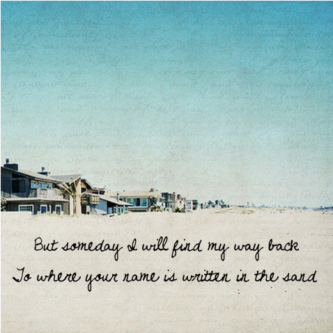 Summer Song Lyric Quotes Quotesgram