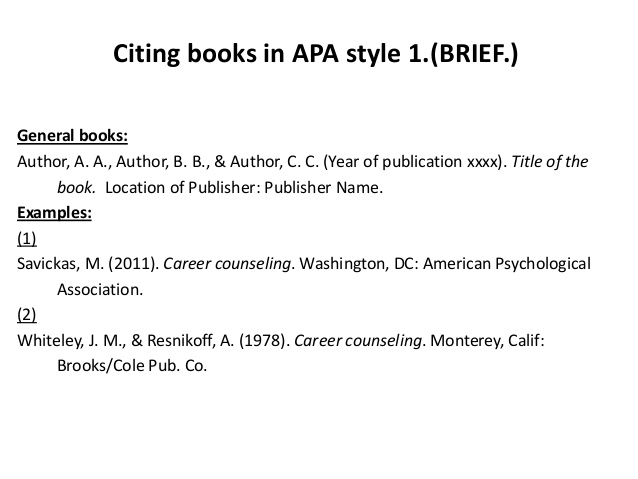 from examples of apa book quotes  quotesgram