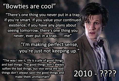 Doctor Who Matt Smith Quotes Funny Doctor Who Quote...