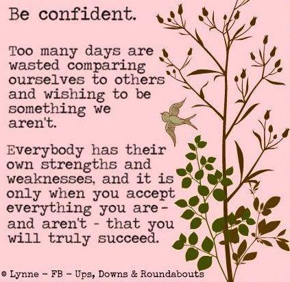 Confidence Quotes Facebook Quotesgram