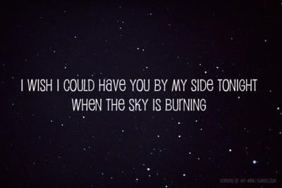 quotes beautiful night sky quotesgram