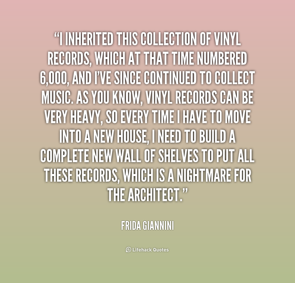 Quotes About Records Quotesgram