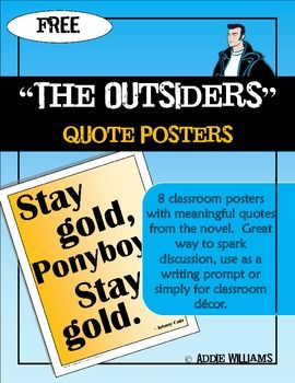 an analysis of s e hintons book the outsiders