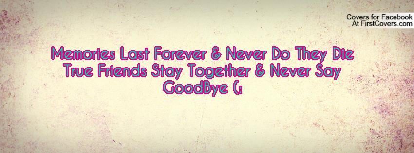 a friendship to last an eternity