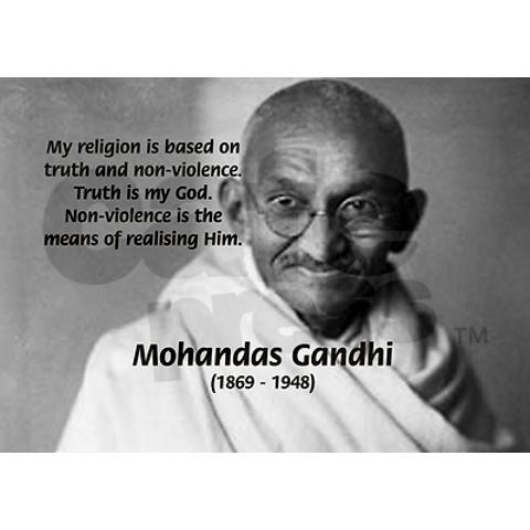 the gandhian philosophy of non violence essay