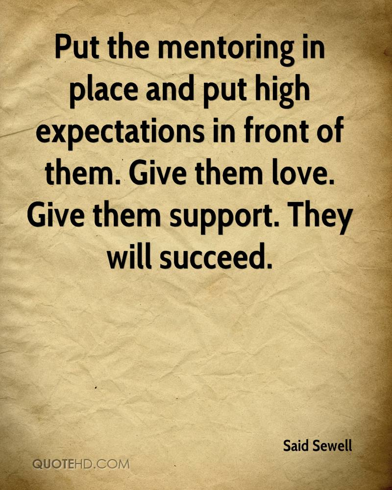 Expectations In A Relationship Quotes: Christian Mentoring Quotes. QuotesGram