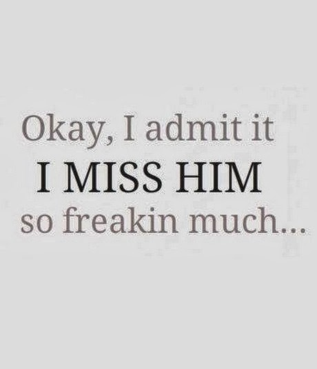 I Miss You Quotes For Him: I Miss Him Quotes. QuotesGram