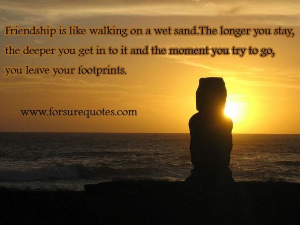 Quotes About Footsteps Quotesgram