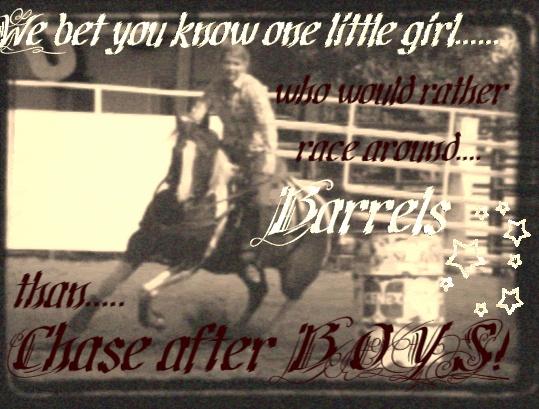 Good Barrel Racing Quotes. QuotesGram