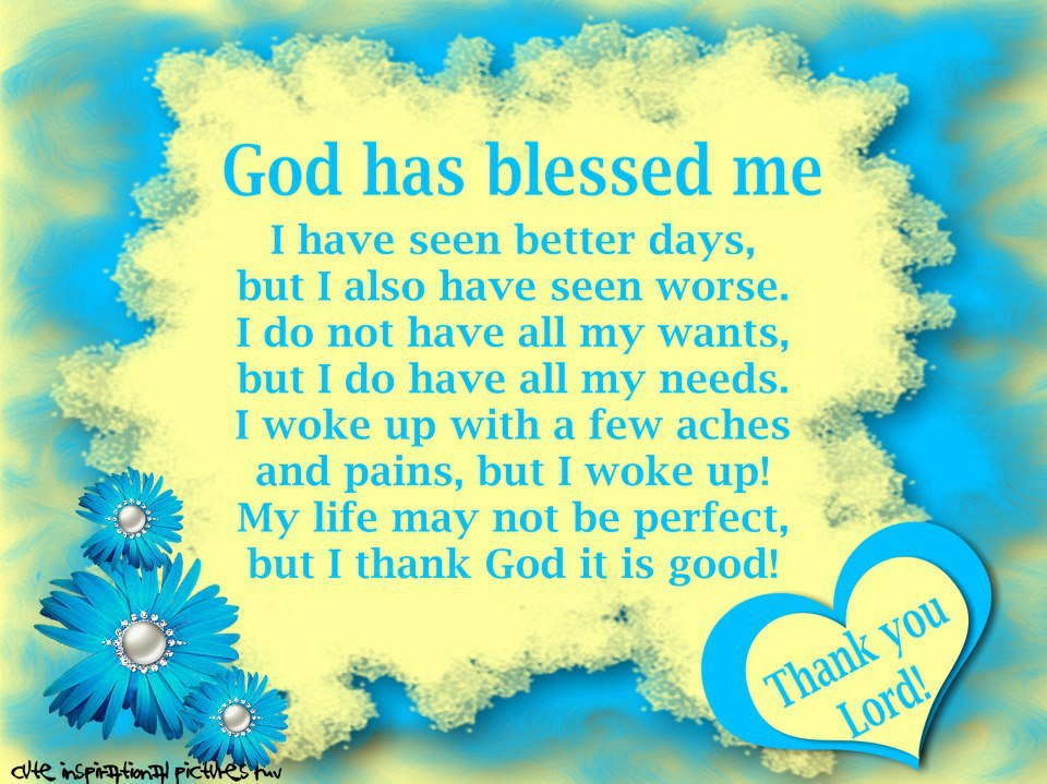 God Is Blessing Me Quotes Quotesgram
