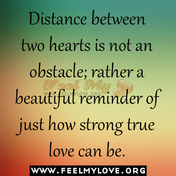 Quotes About Distance Between Family. QuotesGram