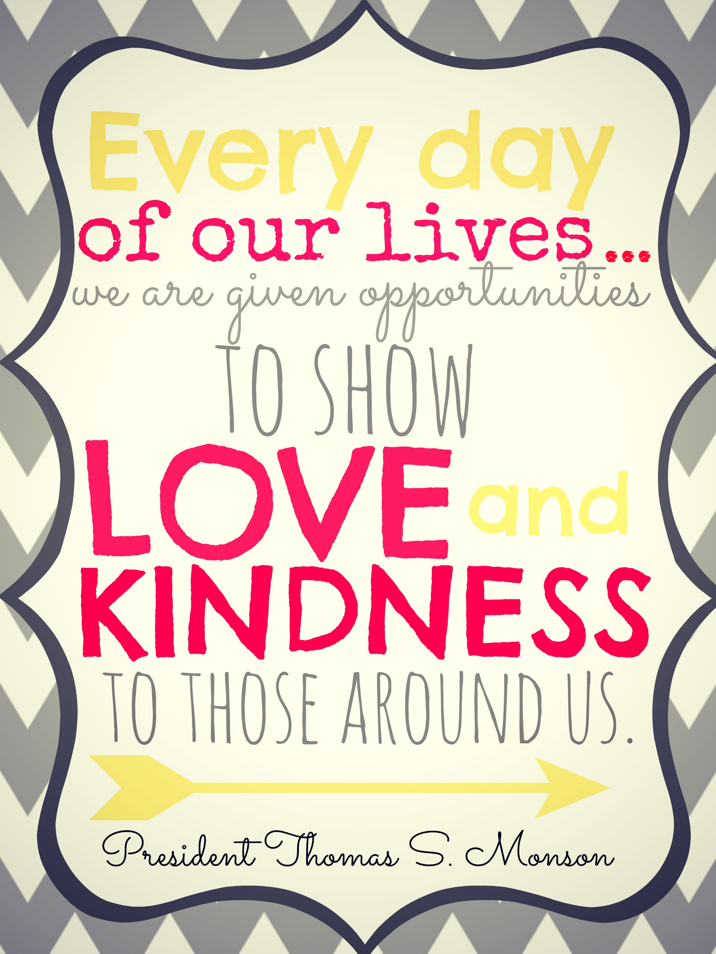 Lds Quotes On Kindness Quotesgram