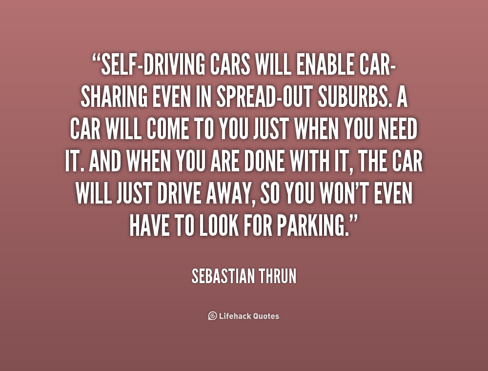 Sebastian Thrun Self Driving Car