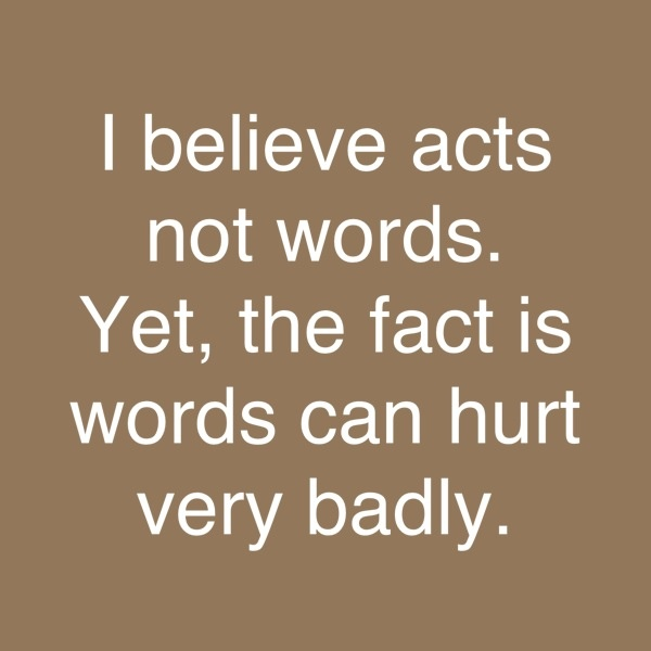 Words Can Hurt Quotes. QuotesGram