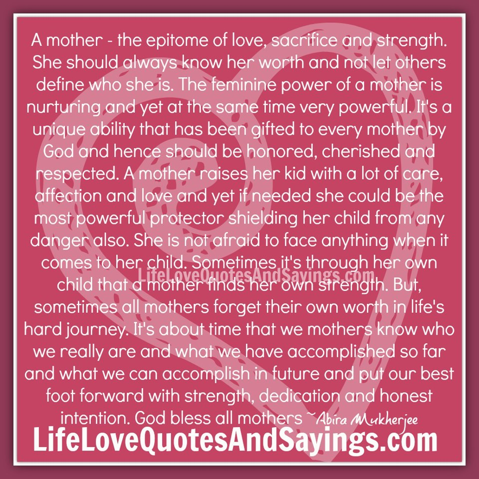 Quotes About A Mothers Love: Mother Daughter Quotes And Sayings. QuotesGram