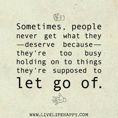 Letting Go Of A Relati...