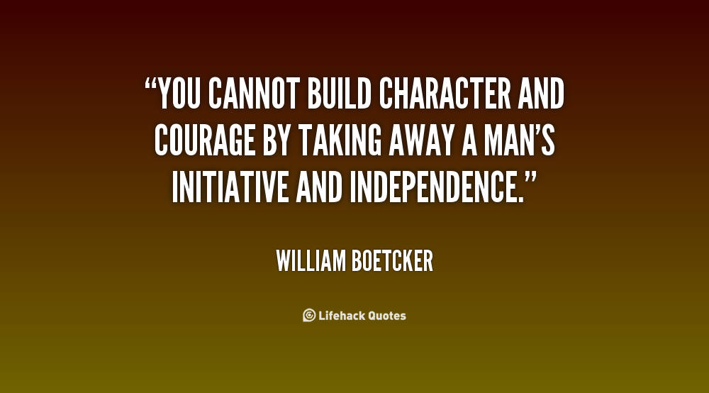 Quotes About Character Building Quotesgram