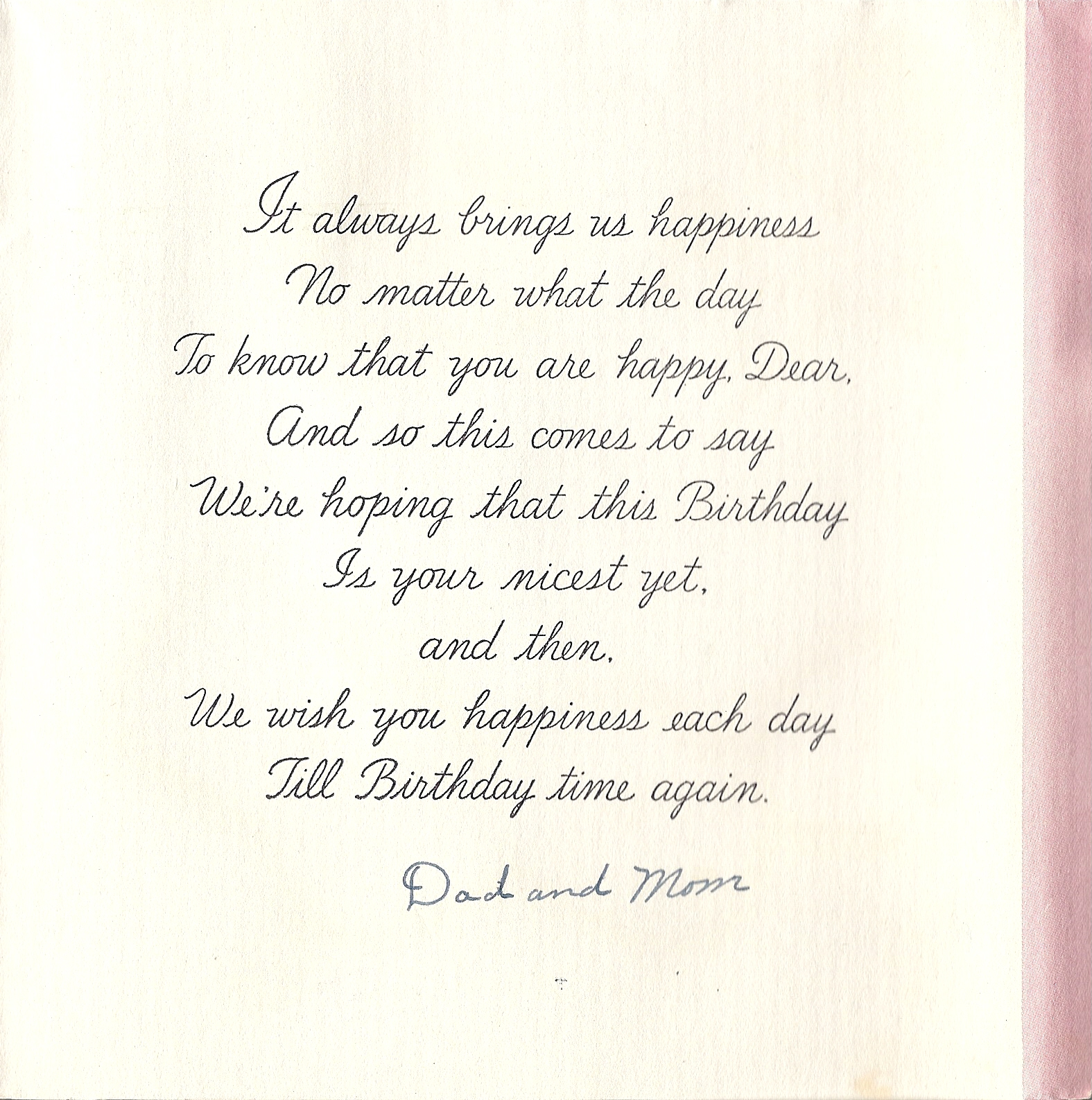 For Inside Birthday Cards Quotes. QuotesGram
