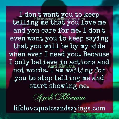 Show You Care Quotes Quotesgram