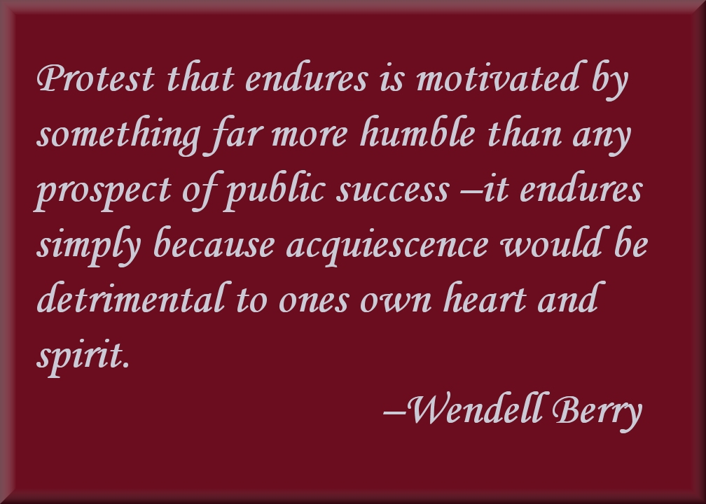 Wendell Berry's Jefferson Lecture