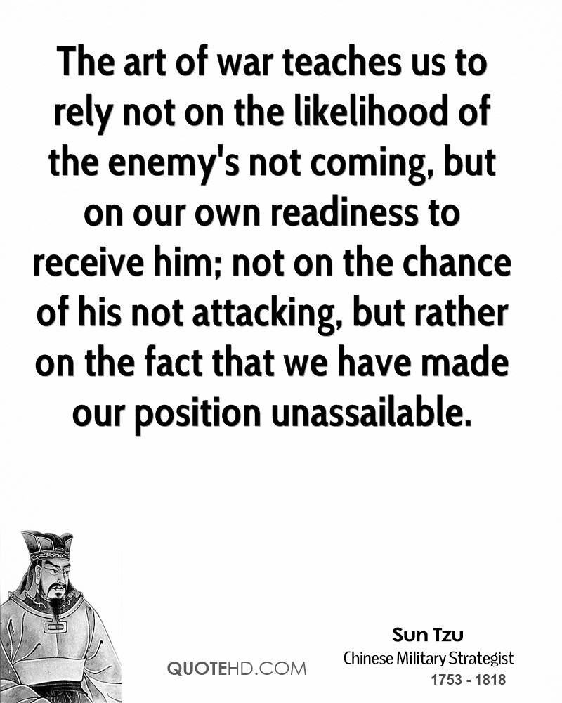 Art Of War Quotes: Quotes From The Art Of War. QuotesGram