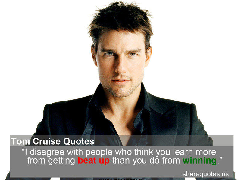 Cruising Quotes Best 24 Famous Quotes About Cruising: Tom Cruise Famous Quotes. QuotesGram