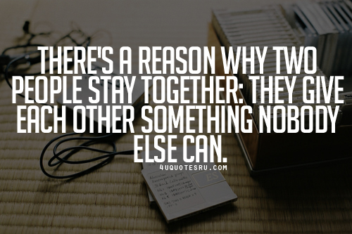 Lets Stay Together Quotes. QuotesGram