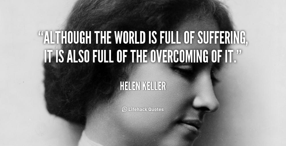 Is world full of suffering essay