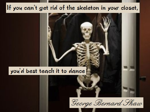 Skeletons In Your Closet Quotes Quotesgram