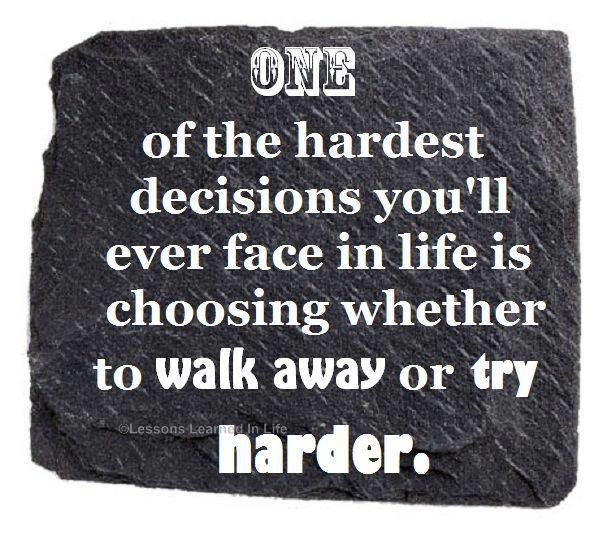Quotes About Tough Decisions: Quotes About Hard Decisions. QuotesGram