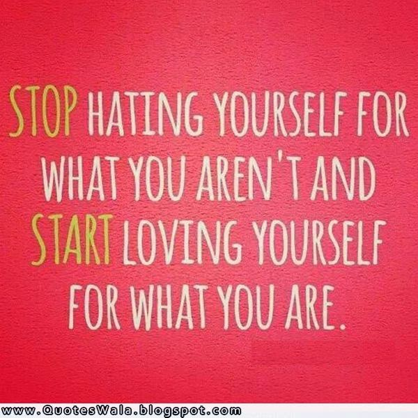 Quotes About Loving Yourself. QuotesGram