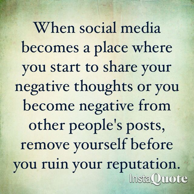 Negative Quotes About Social Media. QuotesGram