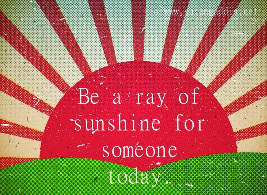 Ray Of Sunshine Quotes Quotesgram