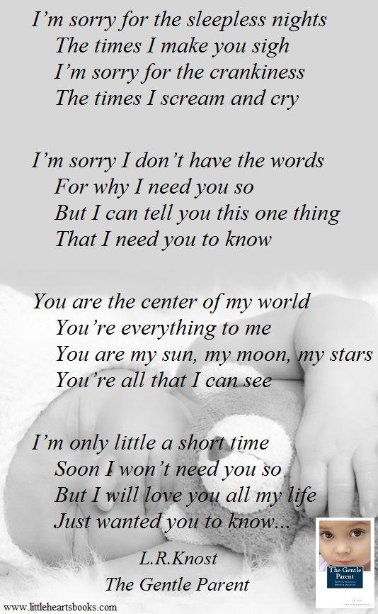 Im sorry poems for her short 7+ Short