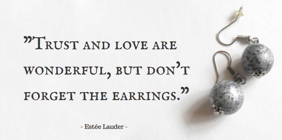 earrings quotes quotesgram