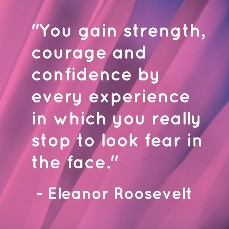 Confidence Quotes That Rhyme: Facing Fear Quotes Eleanor Roosevelt. QuotesGram