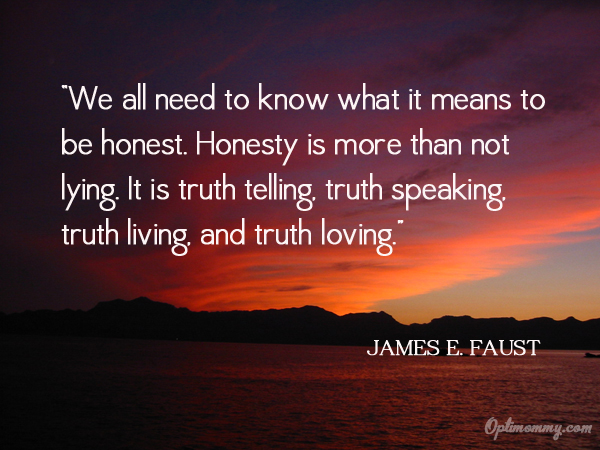 Truth And Honesty Quotes. QuotesGram